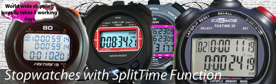Split Stopwatches