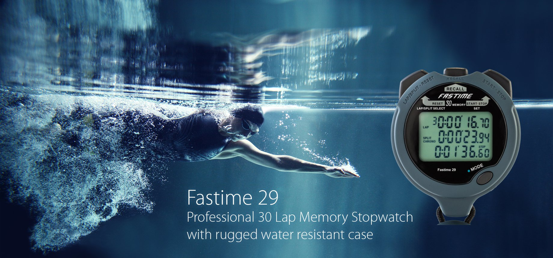 Fastime 29 - Professional 30 Lap Memory Stopwatch