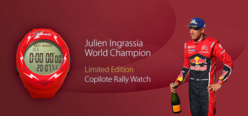 Julien Ingrassia 2018 Limited Edition Copilote Rally Watch